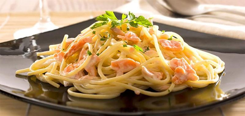 как приготовить спагетти с соусом