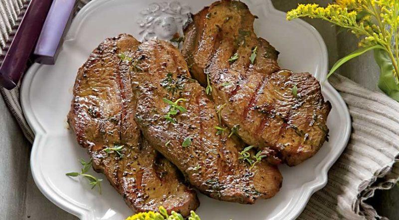 как приготовить стейк из индейки