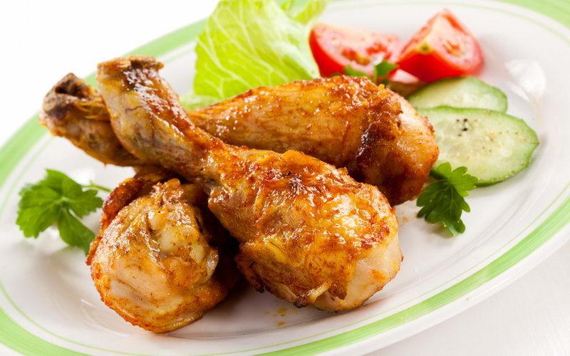 как сделать жареную курицу