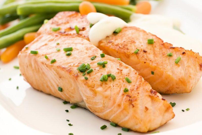 как сделать красную рыбу в духовке
