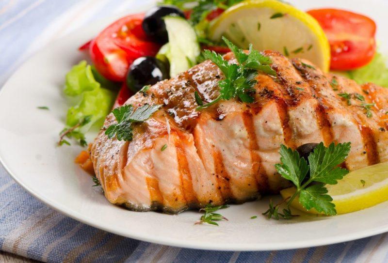 как сделать рыбу с овощами