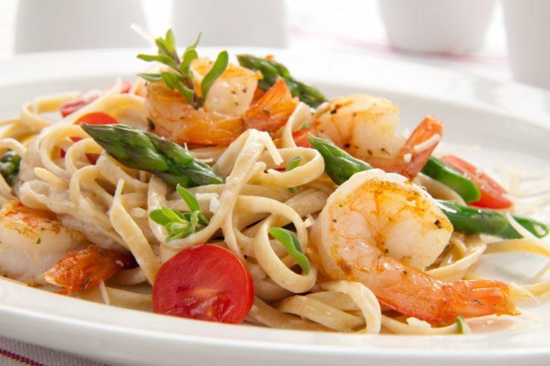 как сделать спагетти с морепродуктами