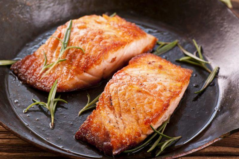 как сделать стейк из лосося
