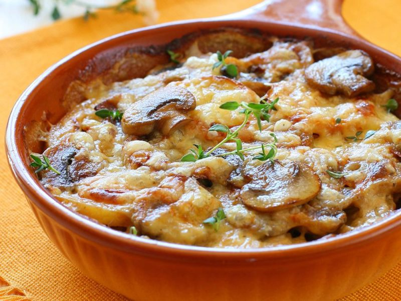 картофельная запеканка с мясом рецепты