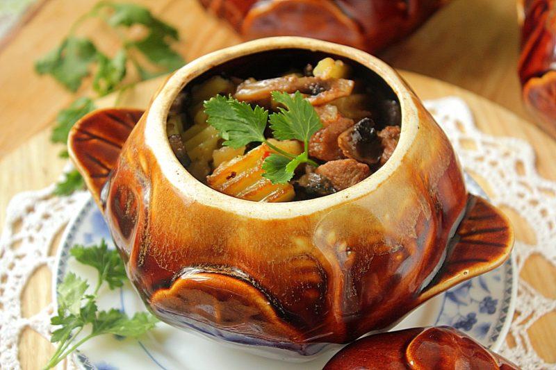 картошка с мясом рецепт приготовления