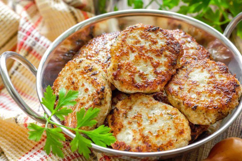 куриные котлеты с сыром рецепт приготовления