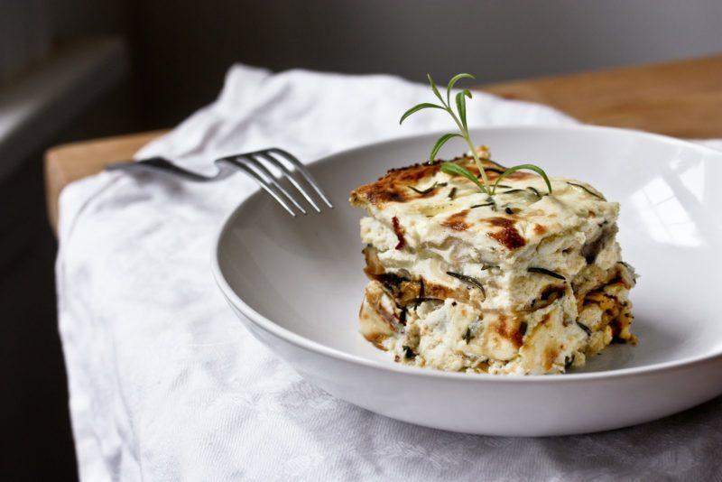 лазанья с курицей и грибами рецепт приготовления