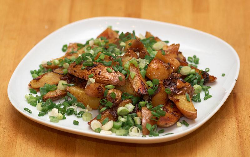 лучшая картошка с мясом