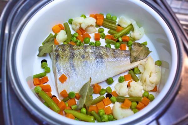 лучшая рыба с овощами