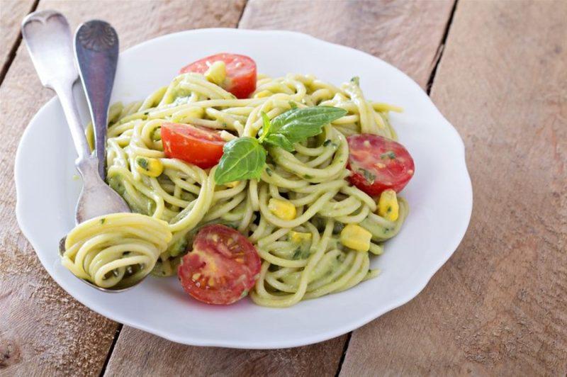лучшие спагетти с соусом