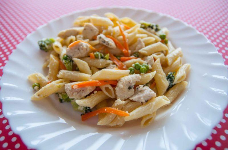 макароны с курицей рецепт приготовления