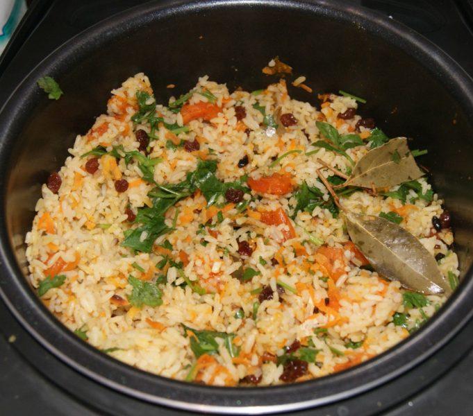 пропаренный рис рецепт