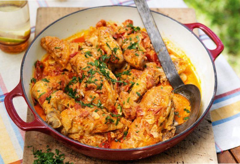 рагу из курицы рецепт