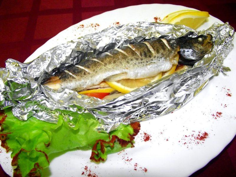 рыба запеченная в фольге рецепт