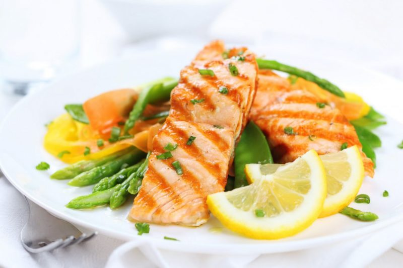рыба с овощами рецепты