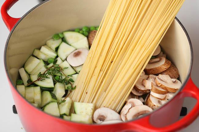 спагетти с грибами рецепты