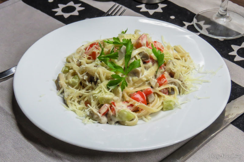 спагетти с соусом рецепты