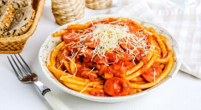 спагетти с соусом рецепт с фото