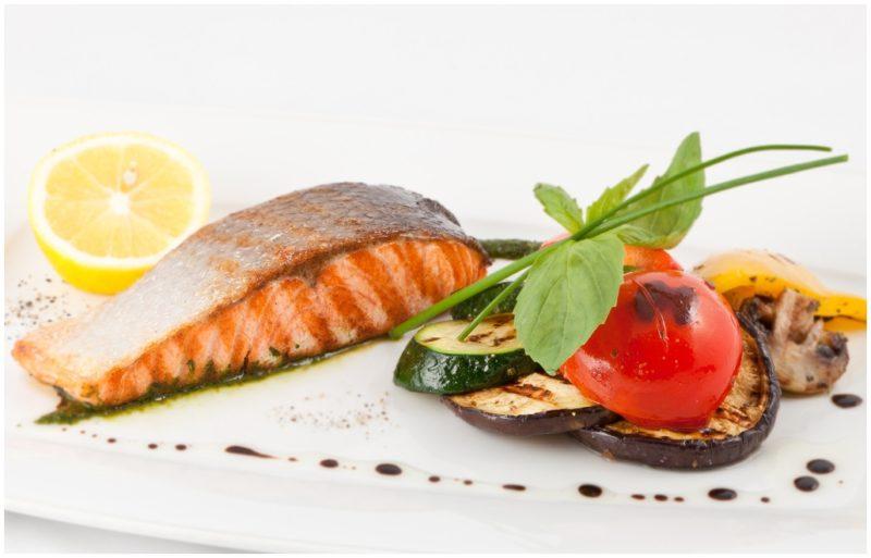 стейк из лосося рецепты