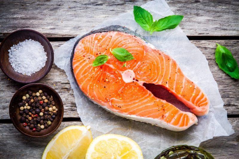 стейк из лосося рецепт приготовления