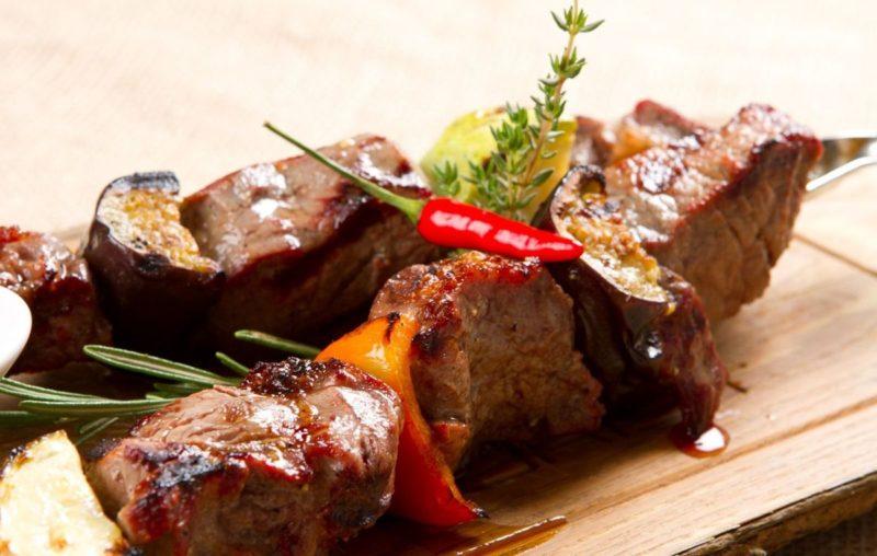 шашлык из говядины рецепт приготовления