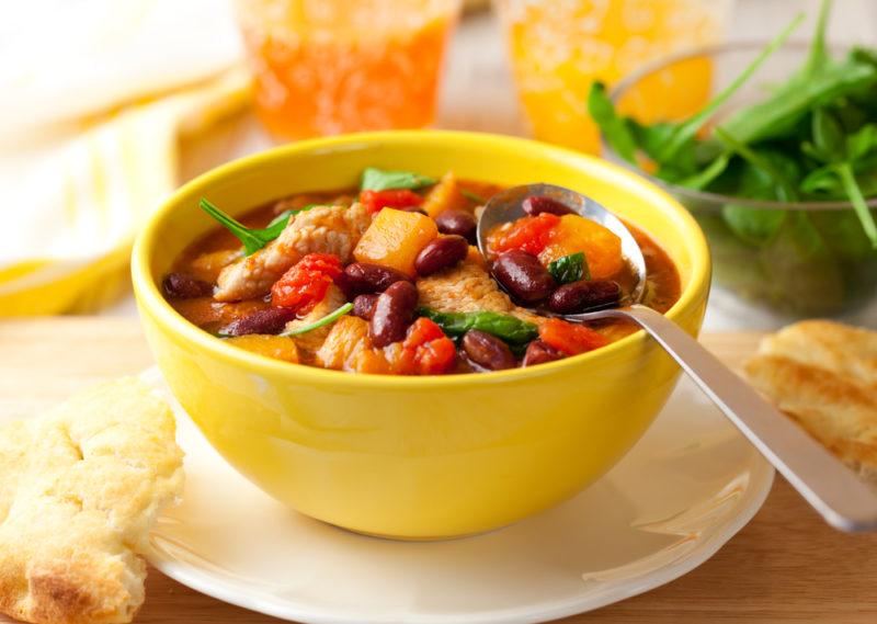 вкусное овощное рагу с кабачками