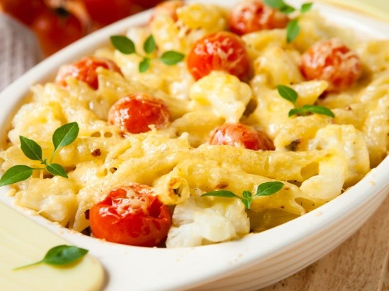 как готовить макароны с овощами