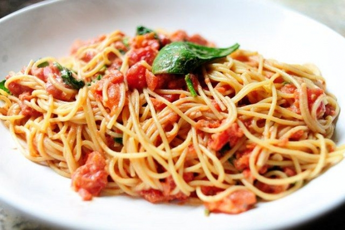 как готовить спагетти с фаршем