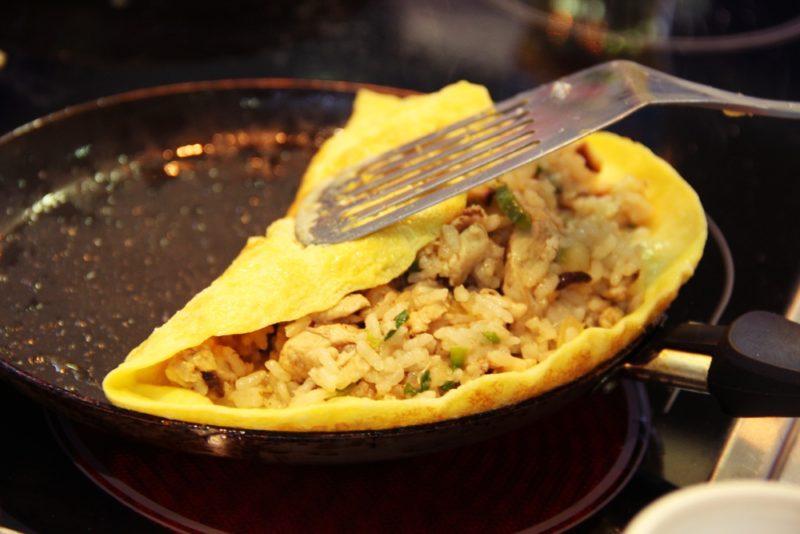 как готовить японский омлет