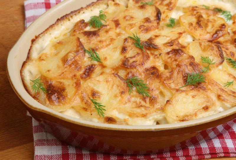 картошка с мясом рецепт с фото