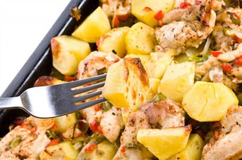 картошка с мясом рецепт