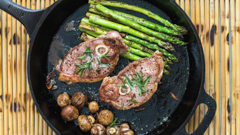 лучший стейк из свинины