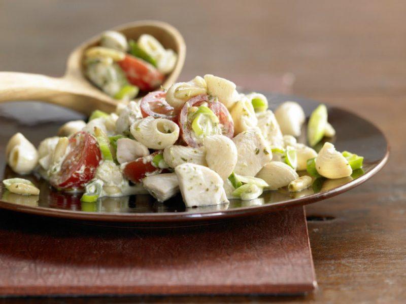 макароны с овощами рецепт с фото