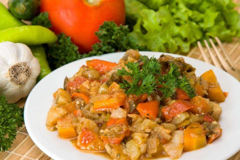 овощное рагу с кабачками рецепт приготовления