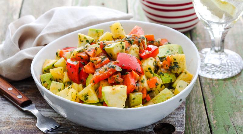 овощное рагу с картошкой рецепты