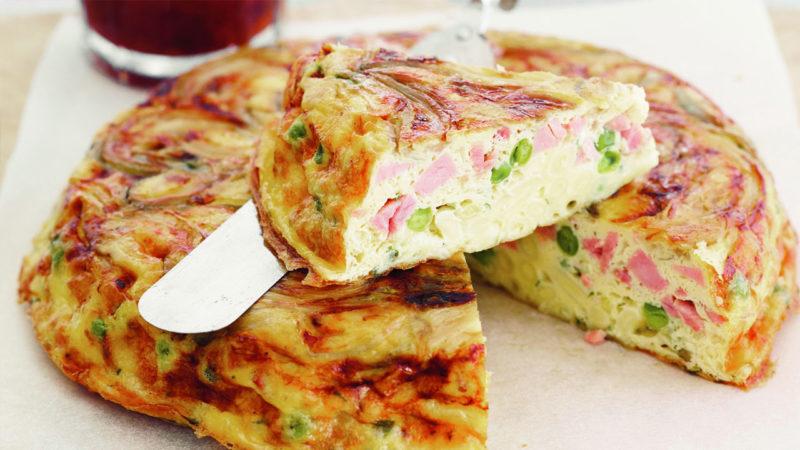 омлет с колбасой рецепт с фото