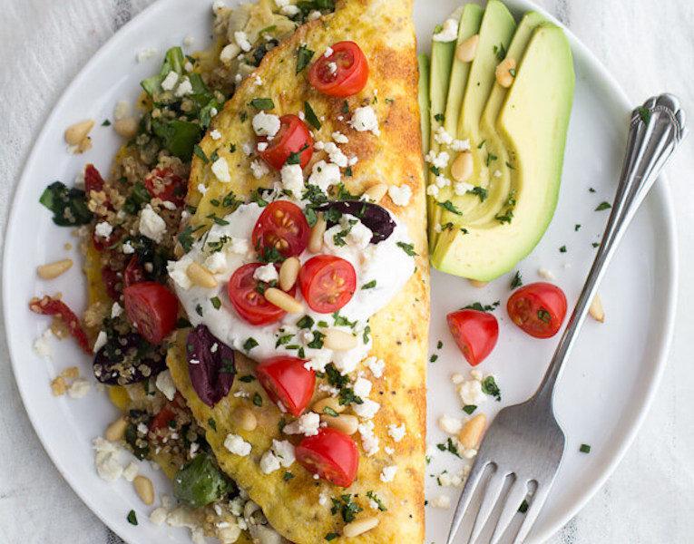 омлет с овощами рецепты