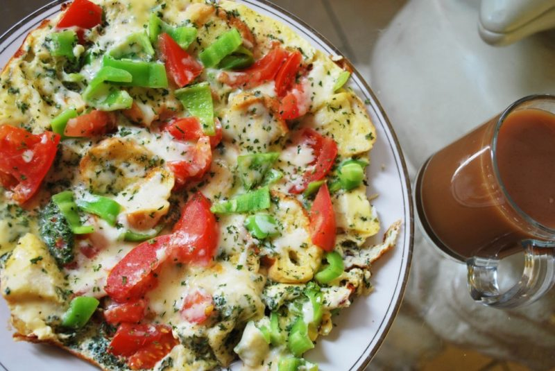 омлет с овощами рецепт приготовления
