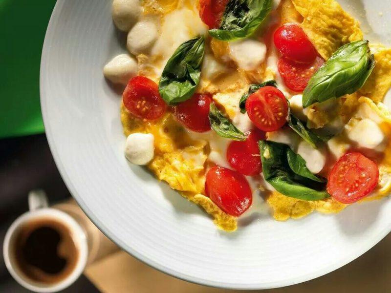 омлет с помидорами рецепт приготовления