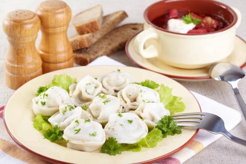 пельмени в духовке рецепт приготовления
