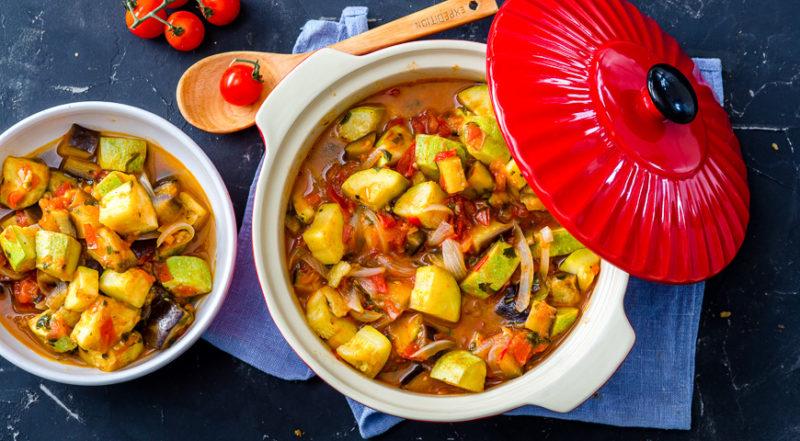 рагу с баклажанами рецепт приготовления