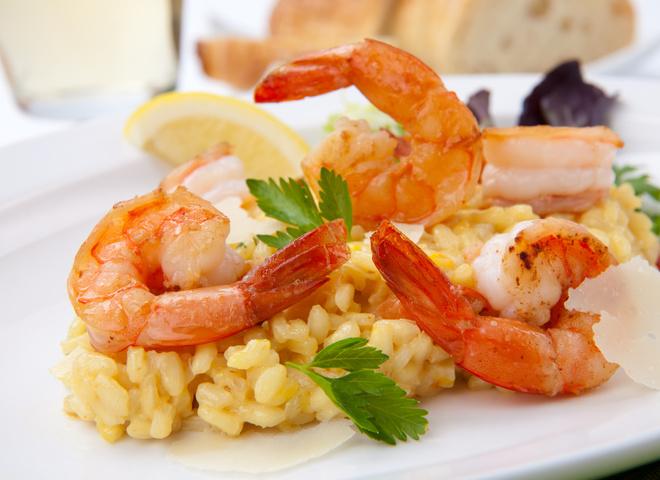 ризотто с морепродуктами рецепты