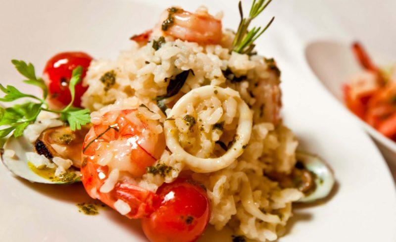 ризотто с морепродуктами рецепт приготовления