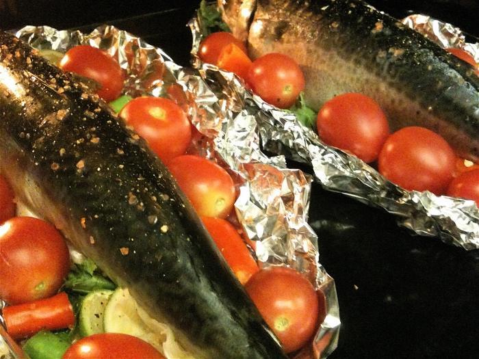 скумбрия в фольге рецепт приготовления
