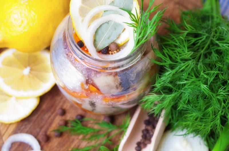 скумбрия соленая рецепты