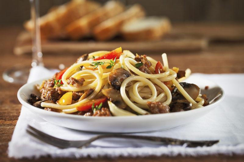 спагетти с фаршем рецепт приготовления