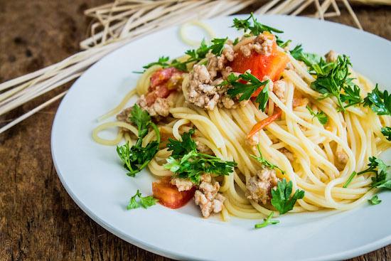 спагетти с фаршем рецепт с фото