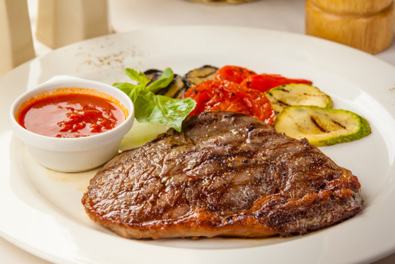 стейк из говядины рецепт приготовления