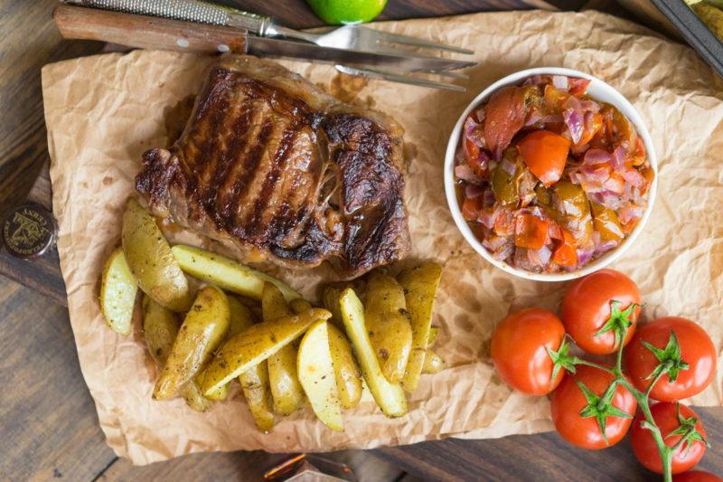 стейк из свинины рецепты