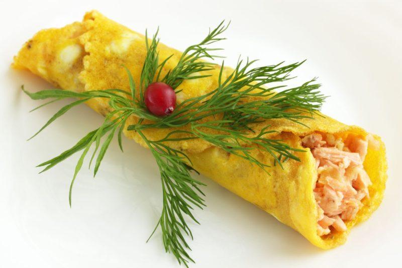 японский омлет рецепт